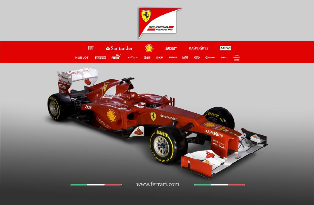 The f150 also featured push-rod rear suspenion but with this year 2019s f2012, ferrari have followed the trend and gone